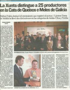 El Correo Gallego - 2 de diciembre, 2011